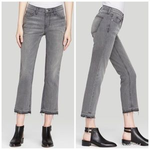Current/Elliot the cropped straight jeans 26